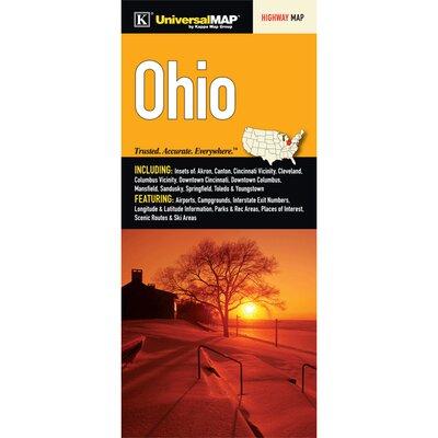 Ohio Fold Map (Set of 2) 13899