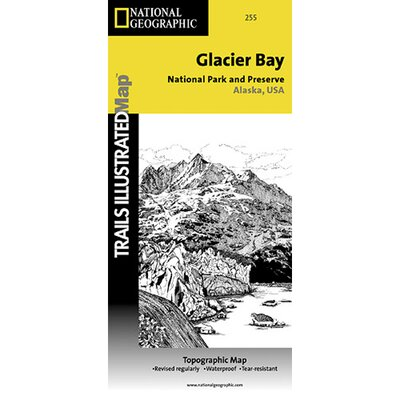 Glacier Bay National Park Map 16235