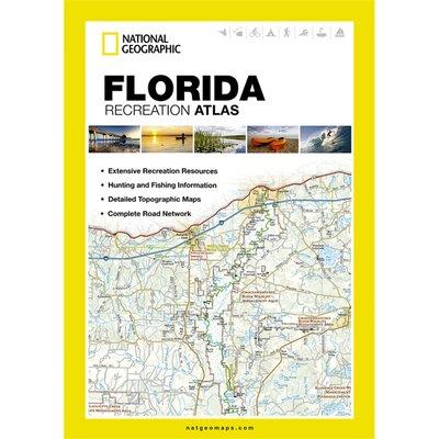 Florida State Recreation Atlas 16555