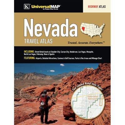 Nevada Travel Atlas 16590