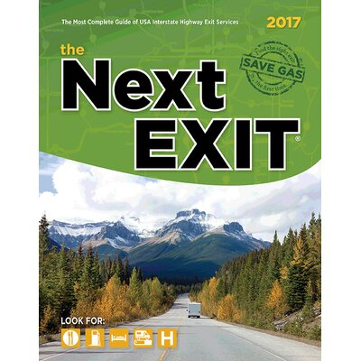 "2017 The Next Exit Guide 11"" x 8.5"" 10825"