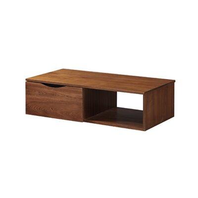 Couchtisch Tabitha mit Stauraum | Wohnzimmer > Tische > Couchtische | Walnussbraun | Nussbaum | ScanMod Design