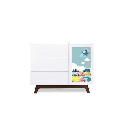 Cheap Muu Sam Dresser with Transportation Panel (MUU1072)