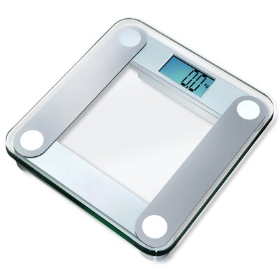 Eatsmart Digital Bathroom Scale with Extra Large Backlight in Silver at Sears.com