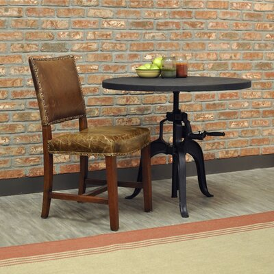 Valley Genuine Leather Upholstered Dining Chair