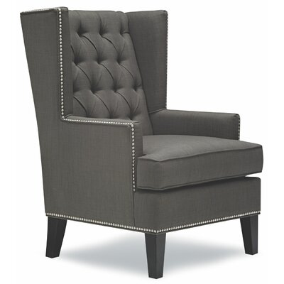 Ryan Wing back Chair Color: Gray
