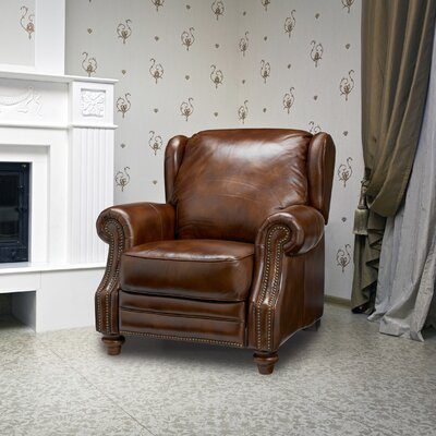 Henderson Leather Manual Recliner