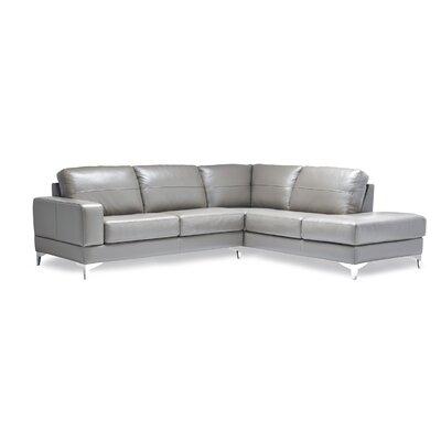 Sofas to Go AL-FELI-LAS-BER-GRE Finch Leather Sectional