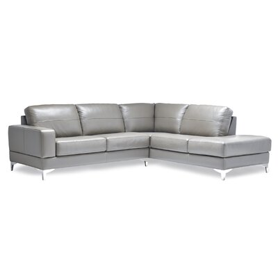 Finch Leather Sectional