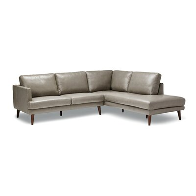 Bond Leather Sectional