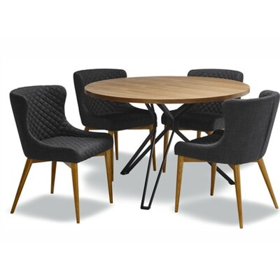 Cara 5 Piece Dining Set