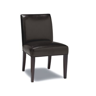 Abraham Genuine Leather Upholstered Dining Chair (Set of 2)