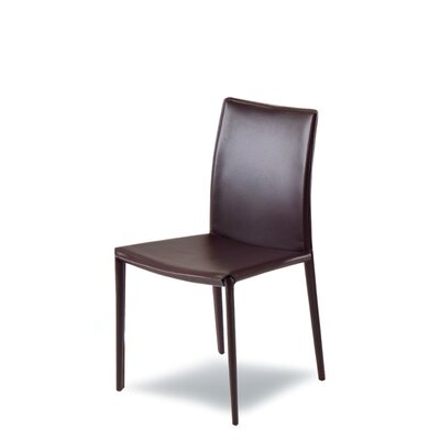 Bondcliff Genuine Leather Upholstered Dining Chair (Set of 2)