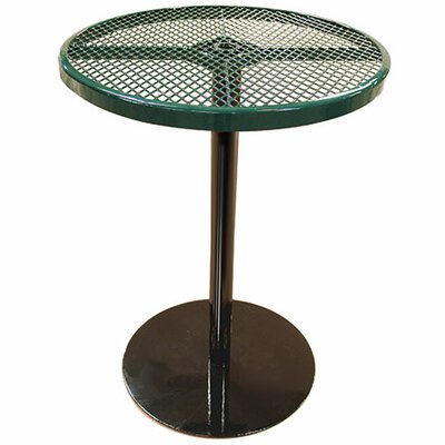 Bar Table Finish: Green, Table Size: 40 H x 36 W x 36 D