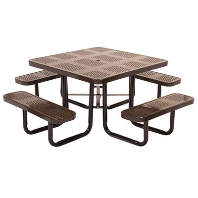 Picnic Table Finish: Black