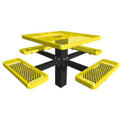Picnic Table Finish: Yellow