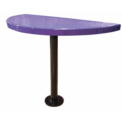 Bar Table Finish: Blue, Table Size: 40 H x 44 W x 22 D