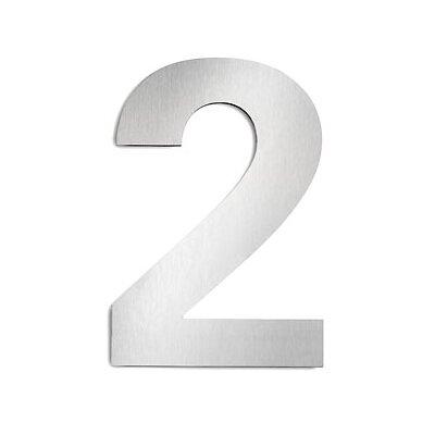 Hausnummer 2 | Lampen > Aussenlampen > Hausnummern | Edelstahl | CMD