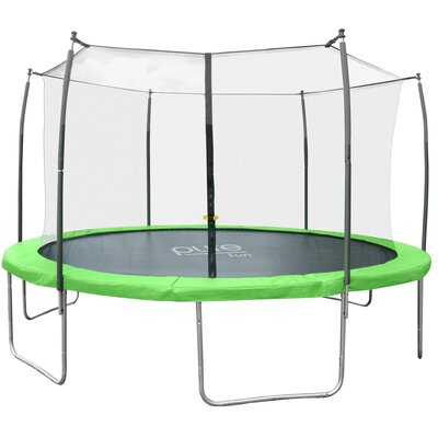 Dura-Bounce Round Trampoline with Safety Enclosure Size: 12' W 9312TS