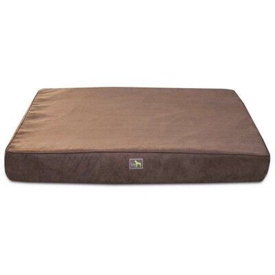 Orthopedic Dog Pillow Size: Large (44 L x 34 W), Color: Chocolate