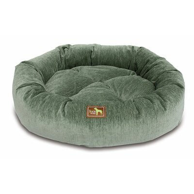 Nest Bolster Size: Medium - 34 L x 34 W, Color: Eucalyptus