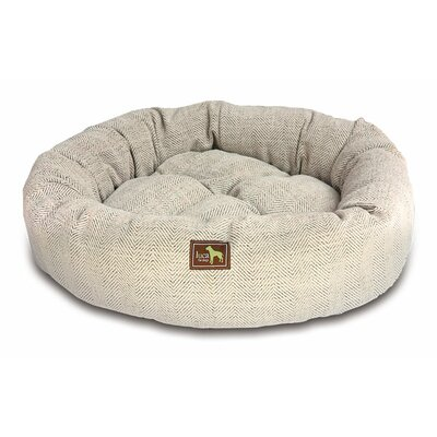 Nest Bolster Size: Medium - 34 L x 34 W, Color: Oyster