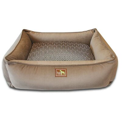Lounge Bed Bolster Size: Small - 26 L x 20 W