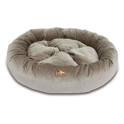 Nest Bolster Size: Medium - 34 L x 34 W, Color: Taupe