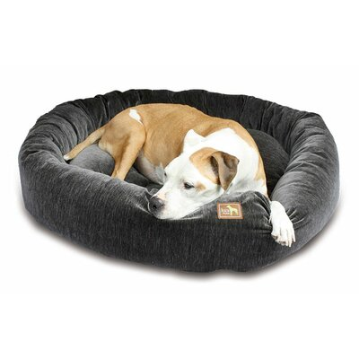 Nest Bolster Size: Extra Small - 20 L x 20 W, Color: Charcoal