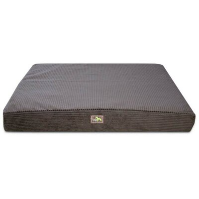 Easy Wash Orthopedic Bed Pillow Color: Chocolate Plush Corduroy, Size: Extra Large - 50 L x 42 W