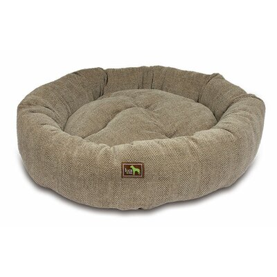 Nest Bolster Color: Cobblestone, Size: Medium - 34 L x 34 W