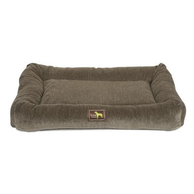 Crate Cuddler Bolster Size: Medium - 30 L x 20 W, Color: Taupe