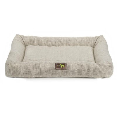 Crate Cuddler Bolster Color: Oyster, Size: Large - 36 L x 24 W