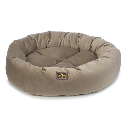 Nest Bolster Size: 10 H x 40 W x 40 D, Color: Brown