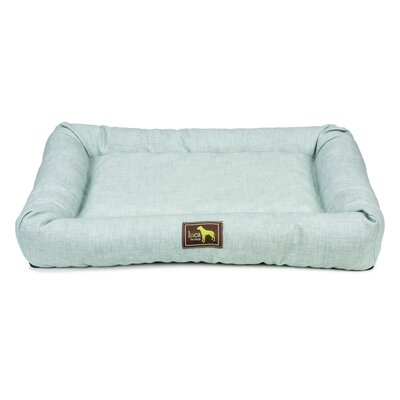 Crate Cuddler Bolster Size: 4 H x 42 W x 28 D, Color: Green