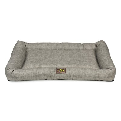 Crate Cuddler Bolster Size: 4 H x 36 W x 24 D, Color: Light Gray