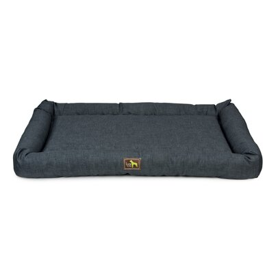 Crate Cuddler Bolster Size: 4 H x 36 W x 24 D, Color: Navy