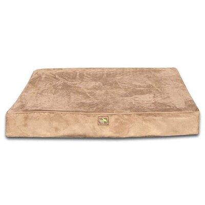 Orthopedic Dog Pillow Size: Large (44 L x 34 W), Color: Earth