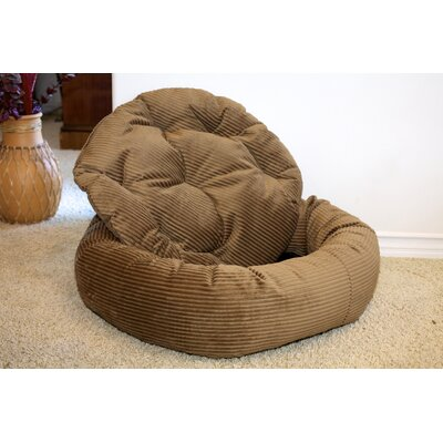 Nest Easy-Wash Cover Donut Dog Bed Size: Large (40 L x 40 W), Color: Pecan