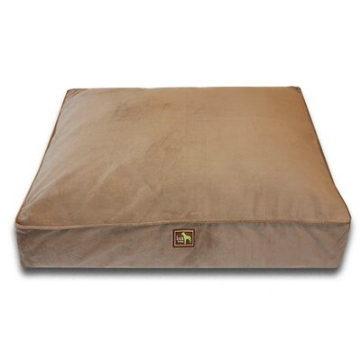 Easy-Wash Cover Rectangle Dog Pillow Size: Large (44 L x 34 W)