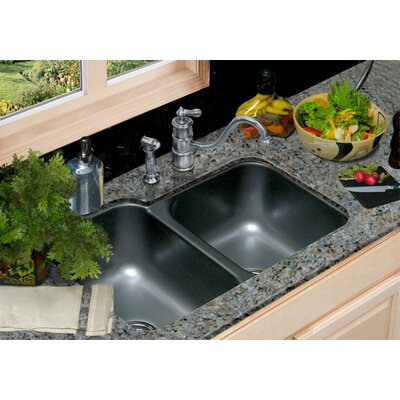 Optimum Glendale Double Bowl Undermount Kitchen Sink