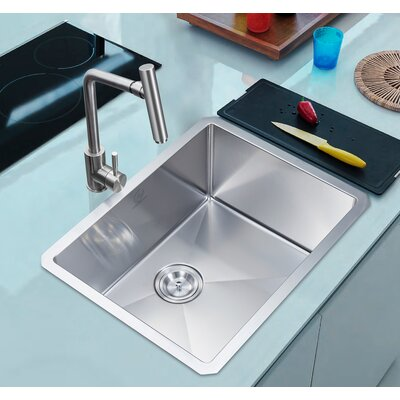 Nationalwares 23 x 18 Undermount Kitchen Sink