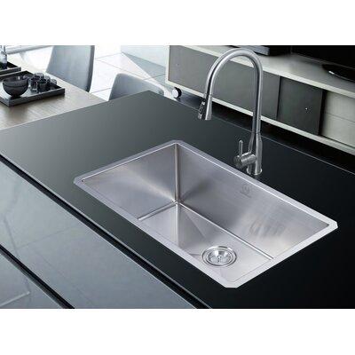 Nationalwares 30 x 18 Undermount Kitchen Sink