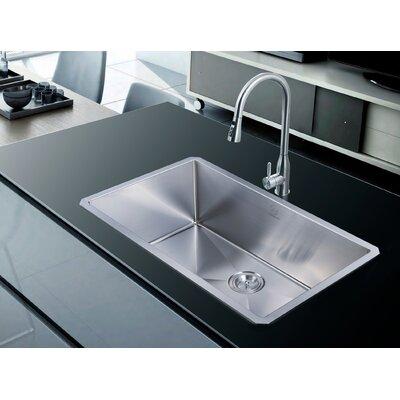 Nationalwares 32 x 19 Undermount Kitchen Sink