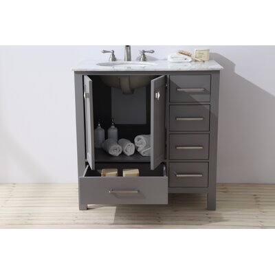 Malibu 36 Single Bathroom Vanity Set