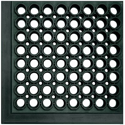 Safewalk Light Utility Mat Color: Black