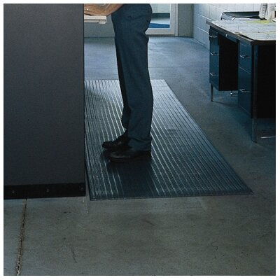 Value Ribbed Tuff Spun Foot Lover Doormat Size: 27 x 36