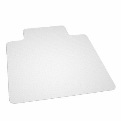 "ES ROBBINS Anchormat High Pile Carpet Beveled Edge Chair Mat - Size: 45"" x 53"" at Sears.com"