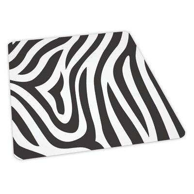 "ES ROBBINS Zebra Design Chair Mat - Size: 36"" x 48"" Rectangular, Beveled, .110, Hard Floor at Sears.com"
