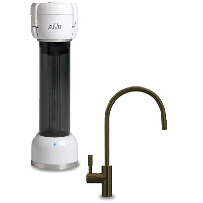 Zuvo 300 Series Under Counter Water Filtration System with Moorea Faucet